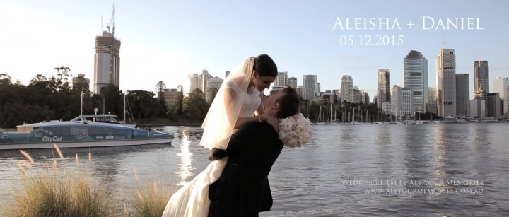 Landing at Dockside Wedding | Aleisha & Daniel