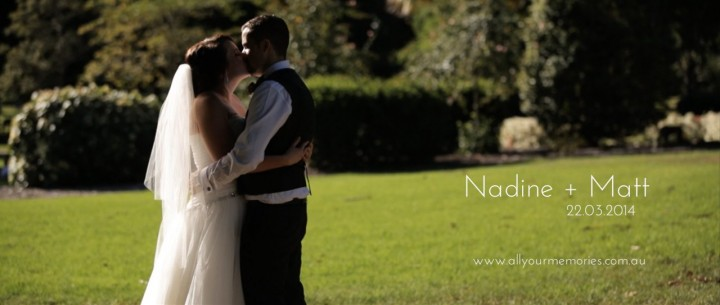 Botanical Gardens and MODA Events Wedding Video | Nadine & Matt