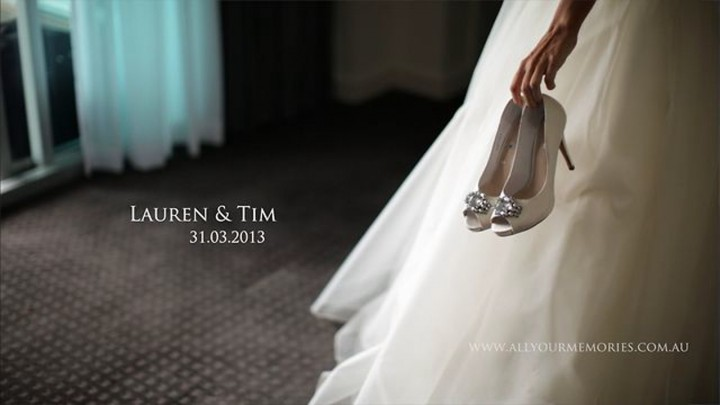 Lauren & Tim – St. Brigid's Cathedral and Victoria Park Wedding