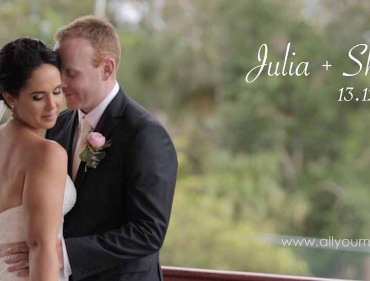 Hervey Bay Wedding Video | Julia & Shaun