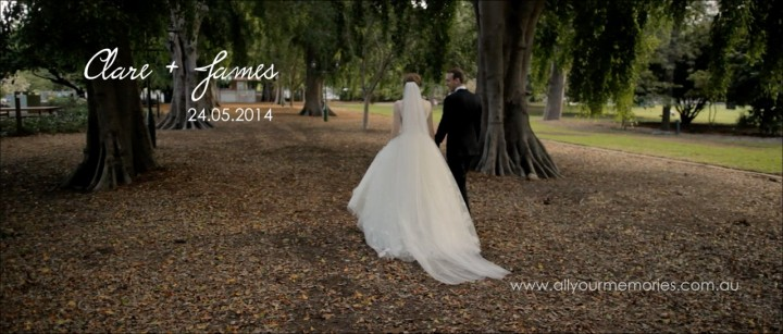 Old Government House and Restaurant Two Wedding Video   Clare & James