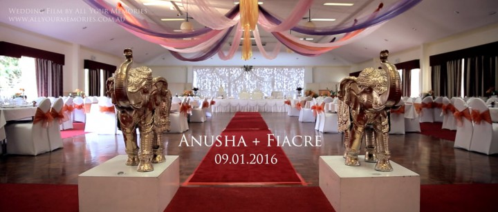 Anusha & Fiacre | Sri Lankan Wedding Video