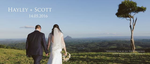 Maleny Manor Wedding | Hayley & Scott