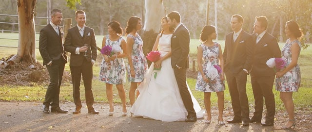 Suki & Travis | Bundaleer Gardens Wedding, Brisbane