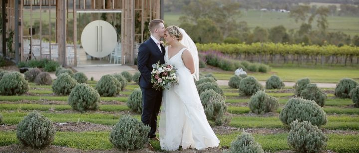 Kooroomba Vineyards and Lavender Farm Wedding | Courtney & Ben